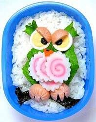 Owl bento box Pinned by www.myowlbarn.com