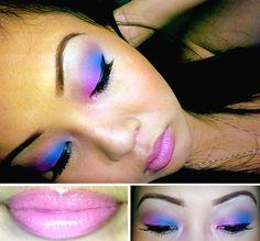 kcmakeup:  Cathy's Nicki Minaj Inspired Look Eyes -UDPP (Eden)NYX's Jumbo Pencil (Milk)BH Cosmetics 120 Eyeshadow Palette, 3rd EditionCoasta...