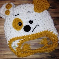A personal favorite from my Etsy shop https://www.etsy.com/listing/279074994/crochet-bubble-guppie-hat-bubble-puppy