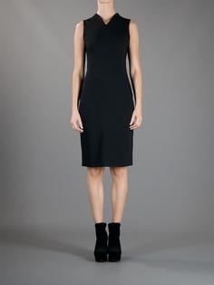 Cedric Charlier Sleeveless Fitted Dress - Schwittenberg - farfetch.com