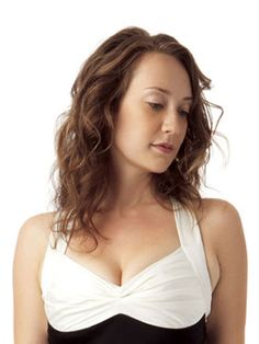 If your hair is on the thin side-and curly, you want shine and control without the weight. Look for stylers without silicone and use leave-in conditioner sparingly on damp hair.  Flip head over and scrunch curls lightly with a towel. Finger-curl a few pieces to give definition, but avoid heat styling.  Finish off the look with hairspray.   - MarieClaire.com