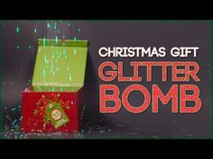 How to Make a Christmas Glitter Bomb - YouTube