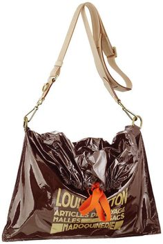 046b3deea73 Louis Vuitton raindrop besace... thought the garbage bag with tie look was  interesting