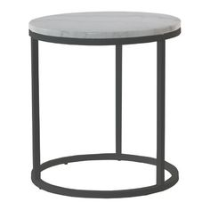 Hazelwood Home Marble Side Table Products In 2019 Square Side Table Hazelwood Home Table