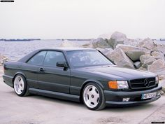 Mercedes SEC.. Sometimes I wish cars looked more like their 90s ancestors.. damn this looks badass