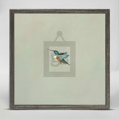 """Aloft"" Mini Framed Canvas from GreenBox Art + Culture. Size - 6''x6''. Price - $29.98. Rustic frame color is predetermined. Browse our entire collection of Mini Framed Canvases for the home!"