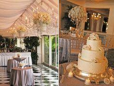 Cake weeding decor