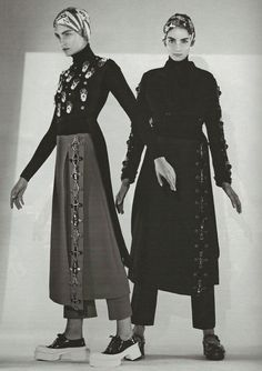 """""""Power Play"""", Ophelie Rupp and Zuzanna Bijoch photographed by Paolo Roversi in W September 2012"""
