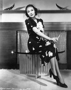 Dolores Del Rio House | ... - Beautiful Women Smoking in Dresses and Skirts: Dolores del Rio