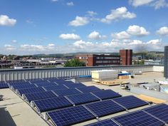 #Solar #PV Installed at Bury College
