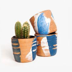 Poketo - Pot en Terracotta Peinte http://fr.pickture.com/