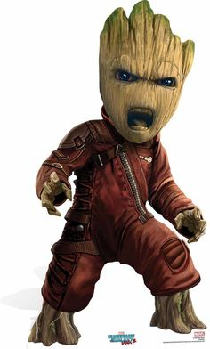 Baby Groot Guardians of The Galaxy Vol 2 Cardboard Cutout - Available now at Starstills