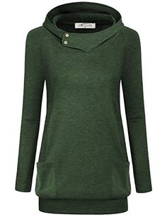 online shopping for Miusey Womens Raglan Long Sleeve Cowl Neck Pullover Casual Tunic Sweatshirts Pockets from top store. See new offer for Miusey Womens Raglan Long Sleeve Cowl Neck Pullover Casual Tunic Sweatshirts Pockets Maternity Sweater, Tunic Tops, Pullover, Sweatshirt Tunic, Sweatshirts, Cowl Neck, Neck Collar, Long Sleeve, Autumn
