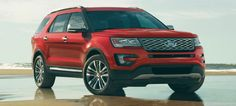 2016 Ford ExplorerI LOVE THE RED!! But I can't decide between White, black or red now.