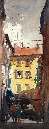 Artodyssey: Eugen Chisnicean #watercolor jd