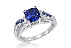 Perfect saphire engagement ring