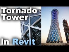 Tornado Tower in Revit Tutorial Revit City, Learn Revit, Building Information Modeling, Revit Architecture, Autocad, Tower, Social Media, Tutorials, Instagram
