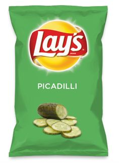 Wouldn't PICADILLI be yummy as a chip? Lay's Do Us A Flavor is back, and the search is on for the yummiest flavor idea. Create a flavor, choose a chip and you could win $1 million! https://www.dousaflavor.com See Rules.