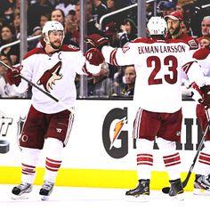 The Phoenix Coyotes <3 #hockey