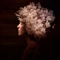 Surreal Photography by Sonja Hesslow. I love the drama and painting-like feel to this photo. It is surreal but in a slightly more realistic, believable way.