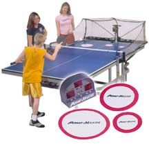 Robot for table tennis practicing and training