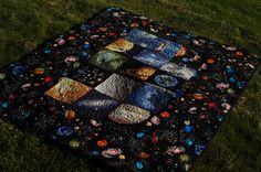 space quilt by novamade, via Flickr
