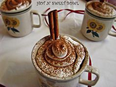 This would be fun to make in the coffee shop! Cappuccino Mug Cake 2 by suganyaramkumar, via Flickr