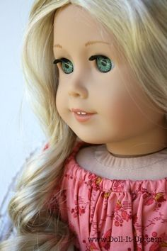 Caroline American Girl Doll Make a Doll Sized Lap Desk from the 1800′s