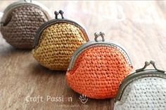 Beautiful coin purse that you can handmade it.