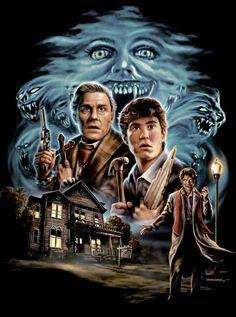 Horror Movie Posters, Cinema Posters, Movie Poster Art, Horror Shirts, Espanto, Horror Artwork, Fiction Movies, Science Fiction, Classic Horror Movies