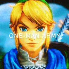 Link the one man army Yes I agree completely