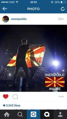 Skopje Macedonia #Native #OneRepublic #RyanTedder #Sexyback