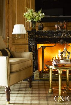 From the Portfolio of Cullman & Kravis: French Flair in Connecticut.