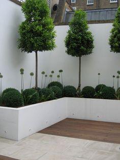 Garden Design London, Back Garden Design, Backyard Garden Design, Small Backyard Landscaping, Modern Landscaping, London Garden, Backyard Designs, Balcony Garden, Landscaping Ideas