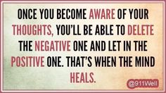 Self awareness allows you to make conscious choices that promote emotional healing. Thought For Today, Uplifting Words, Self Awareness, Change Is Good, Emotional Healing, Health Quotes, Life Advice, Words Of Encouragement, Embedded Image Permalink