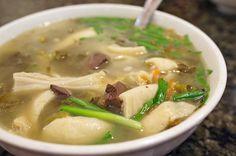 pig intestine soup
