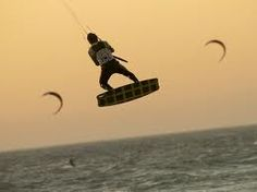 on my list of things to do in 2012--Kite Surfing!