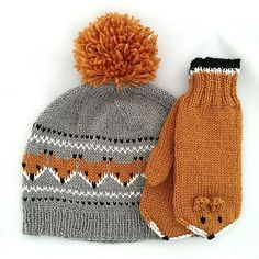 Ravelry: Gurimalla's Fox beanie knitting for beginners knitting ideas knitting patterns knitting projects knitting sweater Kids Knitting Patterns, Knitting For Kids, Knitting Designs, Free Knitting, Knitting Projects, Baby Knitting, Crochet Patterns, Knitting Ideas, Knit Or Crochet