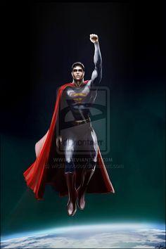 Superman by *AndyFairhurst