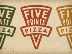 Five Points Pizza - Restaurant Branding