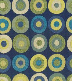 Home Decor Print Fabric Kas Kellam Navy