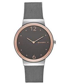 Reloj Skagen de acero al mejor precio y envío gratis #relojes #relojmujer