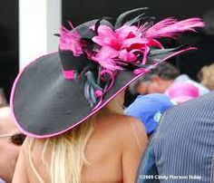 i want to wear this hat to a horse race :)