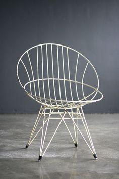 Cees Braakman Combex Wire Chair for Pastoe