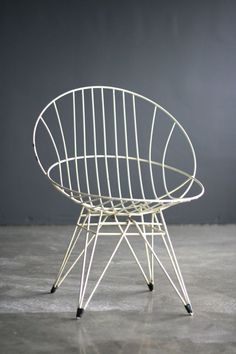 Cees Braakman Combex Wire Chair for Pastoe