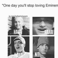 Never 😂 eminem slimshady marshallmathers kamikaze tupac billboard spotify grammys stan hiphop loseyourself revival recovery mmlp oscar music rapper rap shady rapbattle bestrapper drdre drake rihanna rapgod killshot Eminem Funny, Eminem Memes, Eminem Quotes, Rapper Quotes, Eminem Music, Eminem Rap, Eminem Lyrics, Eminem Wallpapers, Best Rapper Ever
