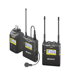 Sony UWPD16/30 Lavalier Microphone, Bodypack, Plug-On TX and Portable RX Wireless System -- For more information, visit image link.