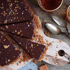 Sjokolade og karamellterte