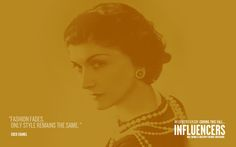 Influencers : Coco Chanel