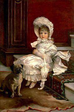 Quite Ready - Philip Richard Morris 1803-1902